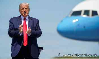 Donald Trump turns Ohio visit into impromptu campaign rally to ding rival Joe Biden