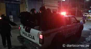 Encuentran a 40 personas en cabinas de internet en Juliaca - Diario Correo