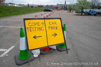 Mobile covid-19 testing unit to be re-established in Elgin car park - Press and Journal