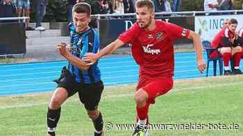Fußball: VfL Nagold gegen FC Holzhausen endet 1:1 - Fußball - Schwarzwälder Bote