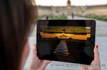 Karlsruhe - Virtuelle Schlosslichtspiele feiern Premiere - Stuttgarter Zeitung