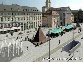 Wasserspiele auf dem Marktplatz in Karlsruhe außer Betrieb! - Karlsruhe Insider