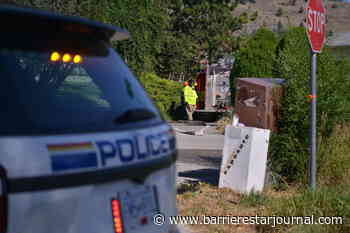 Penticton homes evacuated due to wildfire northwest of city - Barriere Star Journal