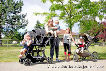 Welcoming the hot weather with a trip to the Splash Pad - Barriere Star Journal