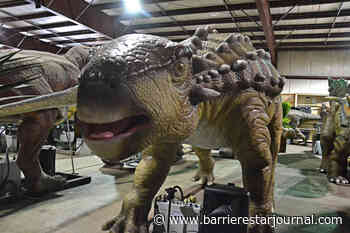 Dinosaurs revived for animatronic auction in Langley - Barriere Star Journal