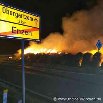 Wieder brennende Strohballen bei Zülpich - radioeuskirchen.de