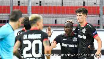 Europa League: Bayer Leverkusen nach 1:0 gegen Glasgow im Viertelfinale