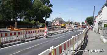 Stillstand auf der Gröpelinger Heerstraße - WESER-KURIER