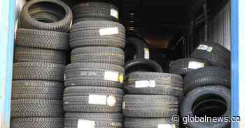 $500,000 worth of tires stolen in Cambridge recovered in Toronto