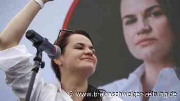 Vor Präsidentenwahl: Opposition in Belarus sagt Großkundgebung ab