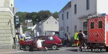 Unfall in Bergisch Gladbach: Senior übersieht beim Abbiegen Mutter mit Kind - Kölner Stadt-Anzeiger