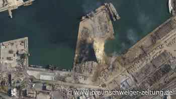 Explosionskatastrophe: 16 Hafenmitarbeiter nach Explosion in Beirut festgenommen