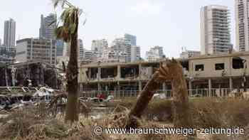 Nach der Explosionskatastrophe: UN wollen Libanon mit neun Millionen Dollar unterstützen