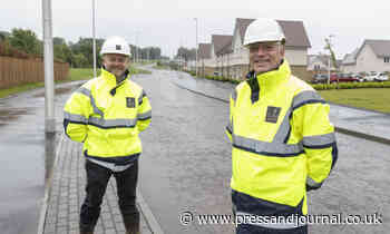 New road opens to motorists in Aberdeen neighbourhood - Press and Journal