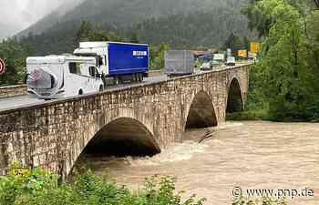Kleine Überschwemmungen, aber Saalach bleibt im Bett - Passauer Neue Presse