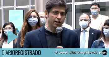 Kicillof fue a un hospital en Ituzaingo y se cruzó con docentes que ''padecieron'' a Vidal - Diario Registrado