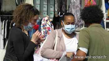 Le port du masque obligatoire sur les marchés de Romilly-sur-Seine - L'Est Eclair