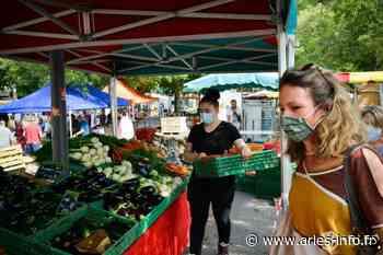 Le port du masque devient obligatoire sur les marchés du centre-ville d'Arles - Arles info