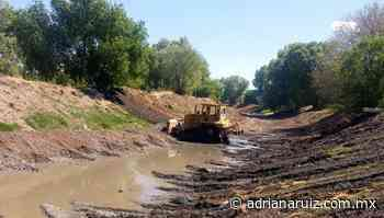 #Cuauhtemoc | Continúan autoridades con limpieza y encauzamiento de arroyos en la ciudad - Adriana Ruiz