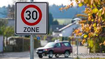 Grüne fordern Tempo 30 in Aichacher Wohngebieten - Augsburger Allgemeine