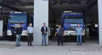 Dirk Wiese zu Besuch beim THW Ortsverband Brilon - Dorfinfo.de – Sauerlandnachrichten
