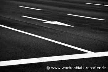 In Entersweilerstraße, Friedenstraße und Zum Betzenberg: Straßenmarkierungsarbeiten - Wochenblatt-Reporter