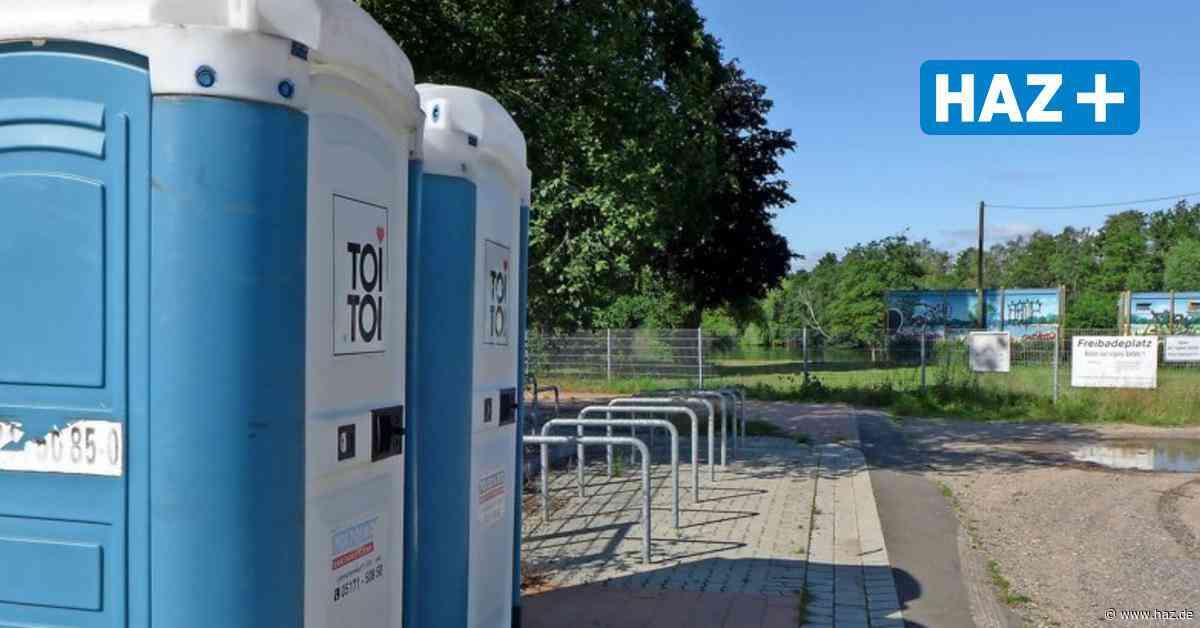 Isernhagen: Gemeinde stellt Mobiltoiletten am Kirchhorster See auf - Hannoversche Allgemeine