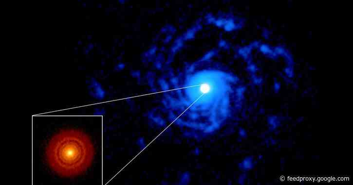 ALMA captures stirred-up planet factory