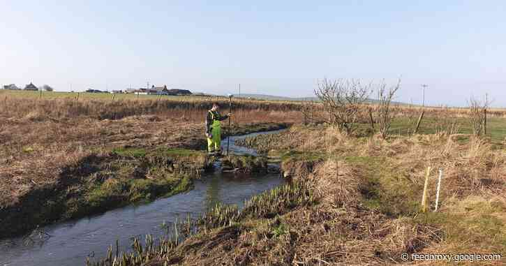 Viking waterway through the Orkney Mainland revealed