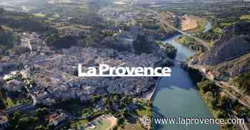 La Provence vue du ciel : Sisteron sur Durance - La Provence