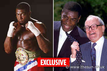 Boxing legend Frank Bruno's autobiography to be turned into TV drama - The Sun