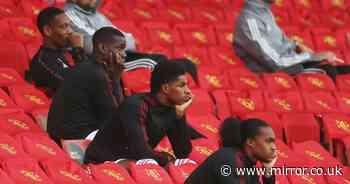 Marcus Rashford and Bruno Fernandes among eight Man Utd stars kept behind after LASK win - Mirror Online