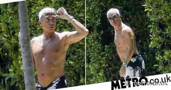 Bruno Tonioli, 64, is total silver fox as he rocks lighter hair in LA - Metro.co.uk