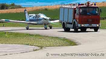 Donaueschingen: Motordefekt erzwingt Notlandung auf dem Flugplatz - Donaueschingen - Schwarzwälder Bote