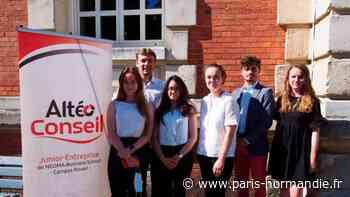 La Junior-Entreprise de Neoma Business School à Mont-Saint-Aignan conseille les entrepreneurs - Paris-Normandie