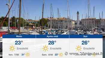 Météo La Rochelle: Prévisions du jeudi 6 août 2020 - 20minutes.fr