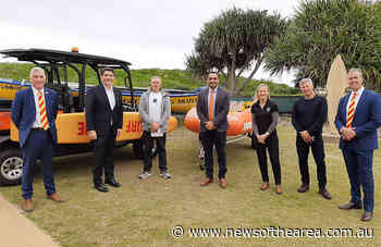 Funding boost from Minister to Coffs Harbour and Sawtell Surf Lifesavers means faster rescues for swimmers - News Of The Area