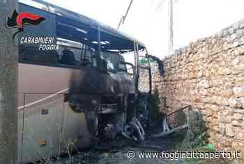 lockdown incendio autobus San Marco Lamis San Giovanni Rotondo - Foggia Città Aperta