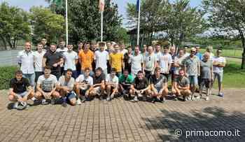 Calcio lariano, la panchina dell'AC Novedrate a Gianluca Santambrogio - Prima Como