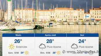 Météo La Rochelle: Prévisions du vendredi 7 août 2020 - 20minutes.fr