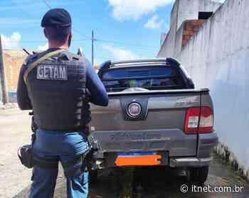 Getam localiza no Bairro São Cristóvão, em Itabaiana, veículo roubado em Ribeirópolis - Portal Itnet
