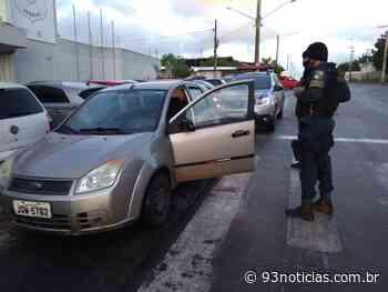 Pastor tem carro tomado de assalto após celebração de culto em Itabaiana - 93Notícias