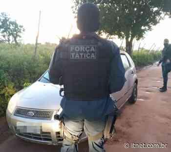 PM localiza na zona rural de Itabaiana veículo com restrição de roubo - Portal Itnet