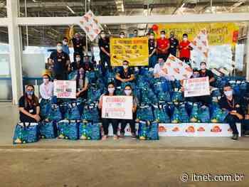 Assaí Atacadista de Itabaiana doa 250 cestas básicas para instituições carentes da região - Portal Itnet
