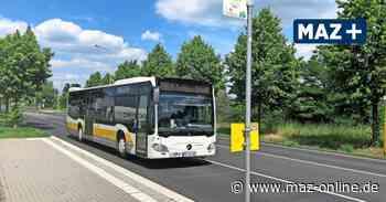 In den Schulbussen in Teltow-Fläming gilt mit dem Schulstart am Montag weiterhin die Maskenpflicht - Märkische Allgemeine Zeitung