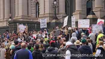 Cops won't stand for Melbourne virus march - Western Magazine