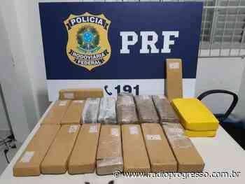 Traficante é presa com mais de 12 kg de droga em Santiago - Rádio Progresso de Ijuí
