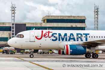 JetSmart retomará Salvador – Santiago em outubro - Aviação Brasil