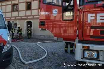 Schwelbrand an Elektroanlage - Freie Presse