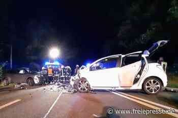 19-Jährige lenkt Auto in Gegenverkehr - Freie Presse